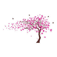 color cherry blossom tree wall decal pop decors