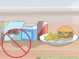 3 ways to fight adhd related depression through diet wikihow