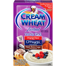 Breakfast Food Cereal Walmart Com by Cream Of Wheat Variety Pk 10 Ct Instant Cereal 11 4 Oz