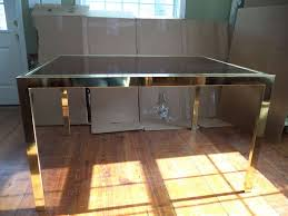 brass glass dining table brass and glass dining table table designs