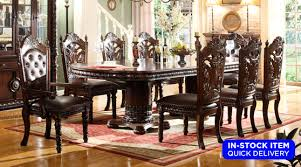 Traditional Dining Room Furniture Sets Dining Rooms Marlyn Traditional Dining Table 6 Chairs
