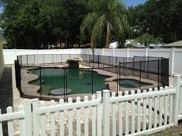Backyard Pool Safety by Baby Barrier Of Central Florida Premier Pool Safety Fence
