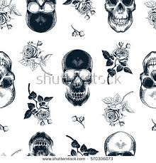 skull wrapping paper paper skull stock images royalty free images vectors