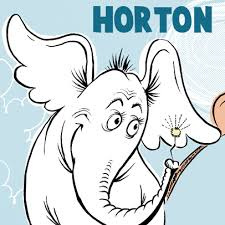 draw horton hears dr seuss u0027 book easy steps