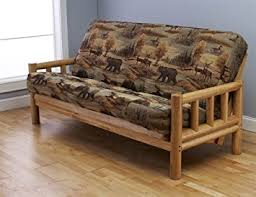 Futon Frame And Mattress Futon Frame And Size Mattress Set This Rustic