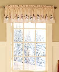 Snowman Curtains Kitchen Christmas Curtains For Kitchen Cortinas Navideas Google Keress