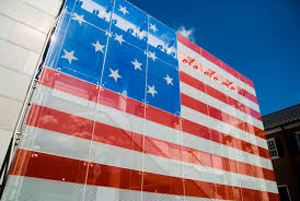 Garrison Flag Size O Say Does That Star Spangled Banner Yet Wave U0027 Apg News