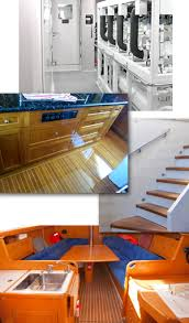 Painting Boat Interior Interior Boat Painting And Refinishing Services