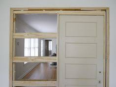 Bathroom Pocket Doors How To Destroy Your Fears Install A Pocket Door Pocket Doors