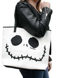 loungefly nightmare before sally faces tote bag