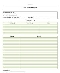 meeting minutes templates informal meeting minutes template