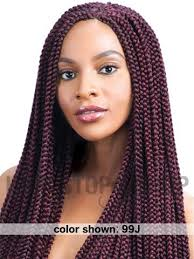 medium box braids with human hair model model glance long box medium braid 24 inches