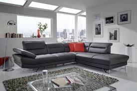 canapé d angle en cuir design canapé angle cuir ou tissu 5 places design affec x livraison gratuite