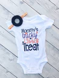 mommy u0027s tricky little treat halloween for babies cute