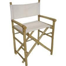 fauteuil realisateur fauteuil metteur en scène pliant en bambou et c achat vente