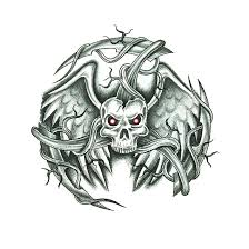 evil skull design by jsharts on deviantart