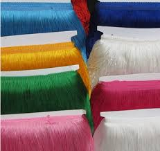 lace ribbon wholesale 10meter wholesale 20cm polyester tassel fringe trim