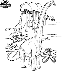 jurassic park s colouring pages printable free things to print