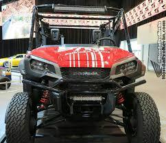 Atv Led Light Bar by Aftermarket Honda Pioneer 1000 Tires U0026 Wheels 2016 1000cc Utv
