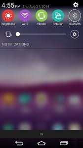 download themes for android lg theme the quick settings icons on your lg g3 lg g3 gadget hacks