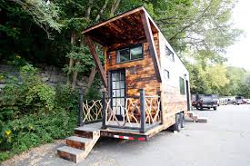 tiny house big living big living in tiny houses north adams building company churns out