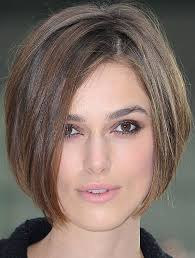 short hair fat oblong face short blunt bob cut for oval face hairstyle monkey various