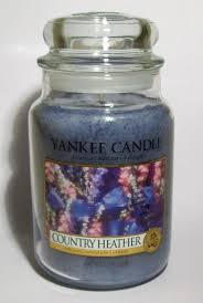 yankee candle country heather large jar scented candle amazon co