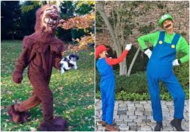 Bigfoot Halloween Costume Kids Tom Brady Gisele Show Halloween Costumes