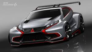 mitsubishi supercar mitsubishi concept xr phev evolution now in gt6