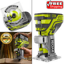 Fine Woodworking Trim Router Review by Ryobi One Plus Adjustable Cordless Trim Router Woodworking Fixed