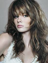 latest layered shaggy hair pictures shaggy hairstyle with bangs long layered haircuts with bangs