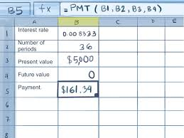 Bill Payment Spreadsheet How To Calculate Credit Card Payments In Excel 10 Steps