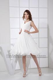 cocktail wedding dresses simple white v neck a line cocktail dress bridesmaid dresses