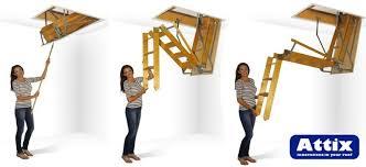 quality attic access ladders u0026 attic stairs attix