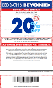 Bed Bath Beyond In Store Coupon In Store Printable Coupons Discounts And Deals Printable Coupons
