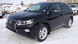 lexus rx black 2014 lexus rx 350 awd in black premium package review youtube