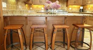 Furniture Elegant Bar Stools Elegant by Bar Dark Black Wooden With Cuhsion Grey Counter Stools With