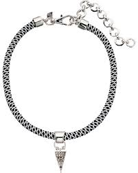 choker necklace with charms images Sweet deal on rebecca minkoff climbing rope choker necklace with