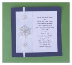 snowflake wedding invitations diy snowflake wedding invitations
