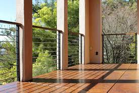 deck rail modern deck railing systems