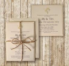 Wedding Invitations Rustic Knots And Kisses Wedding Stationery Rustic Lemon U0026 Cream Wedding