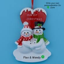 popular personalized couples ornaments buy cheap personalized