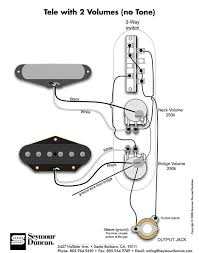 2 pickups 2 vol pots wiring diagram help telecaster guitar forum