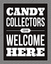candy collectors halloween print eighteen25
