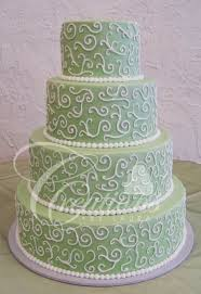 wedding cake green 2010 wedding cakes creations by