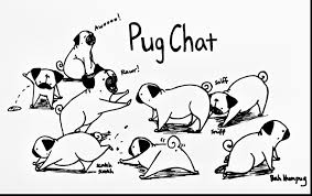 impressive pug printable coloring pages with pug coloring pages