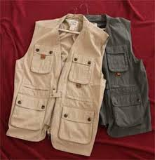 matched pair of travel smith safari vests men u0027s size xl the