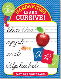 handwriting learn cursive peter pauper press 9781441318152