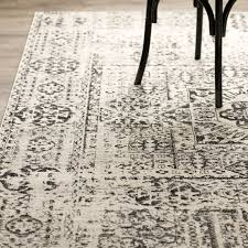 ivory and black rug rug designs