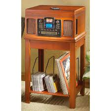 Crosley Table Radio Crosley Nostalgic Stereo With Cd Recorder Turntable And Stand